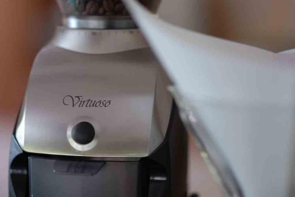 Baratza Virtuoso Closeup