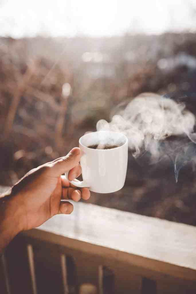 Steaming Brewed Coffee