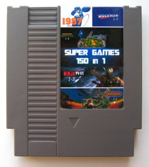 NES 150 in 1 cartridge