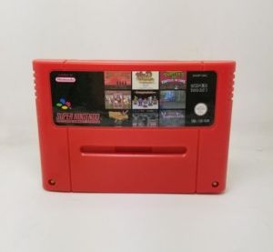Super NES multi cartridge 100 in1