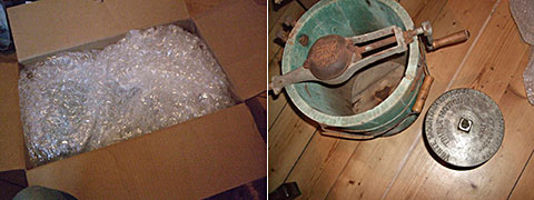 My new one gallon White Mountain freezer