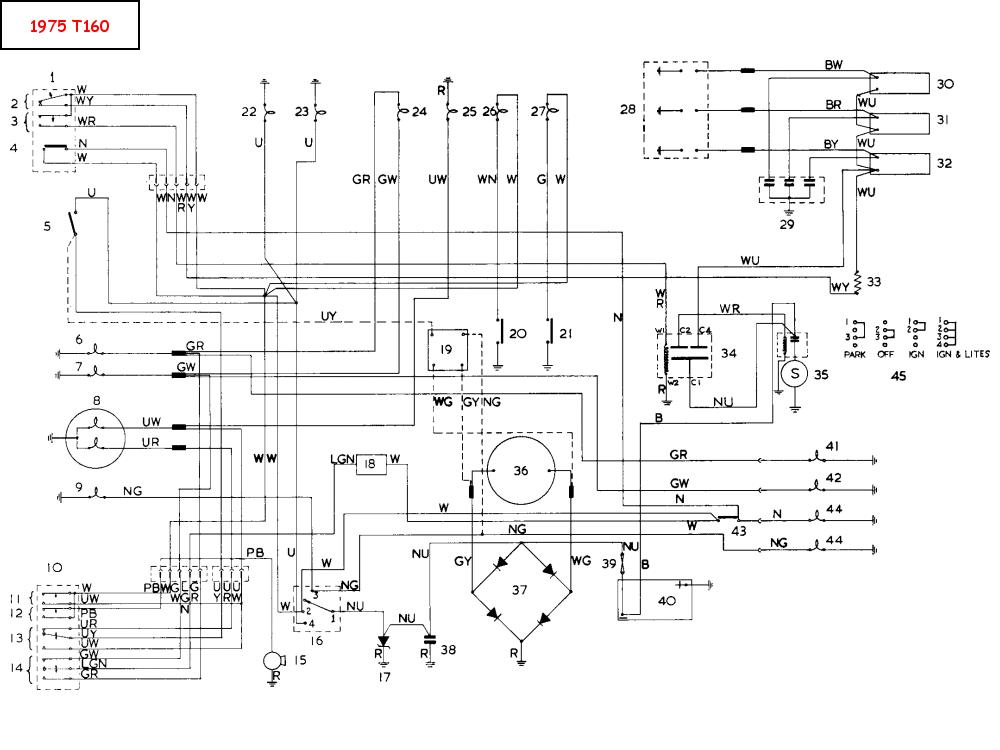 1972 Bsa Wiring Diagram Wiring Diagram Gol