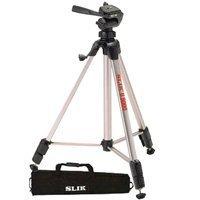 Slik U9000TBM U9000 Video Photo Tripod With Soft Carrying Case
