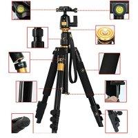 "AFAITH® Professional Portable Magnesium Aluminium Alloy Tripod Monopod & Ball Head SLR Camera Canon Nikon Pentax Sony Tripod Q-555 Max Height: 55.9"", Max Load: 8KG TM004"