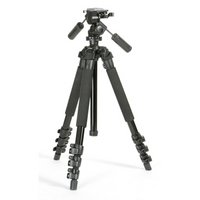 Calumet CK7300 Tripod Kit with 3-way Quick-release Head and Built-in Spirit Level