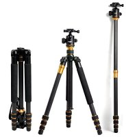 ZOMEI Z668C Professional Carbon Fiber Tripod Stand Holder for Camera DSLR