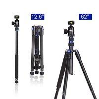 Selens T170 62in Professional SLR Camera Tripod / Monopod for Canon, Nikon, Sony, Samsung, Panasonic, Olympus, Kodak, Fuji, Cameras and Camcorders