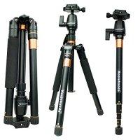 Koolehaoda K555 Portable Lightweight 62-inch Tripod All Canon Sony