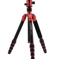 MeFOTO A2350Q2R Aluminium Globetrotter Travel Tripod Kit (Red)