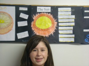 TriPoint CUSD 6J  Sun Diagrams, an 8th Grade Science Project