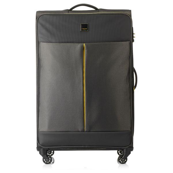 Tripp Graphite 'Style Lite' Large 4 Wheel Suitcase - Soft ...