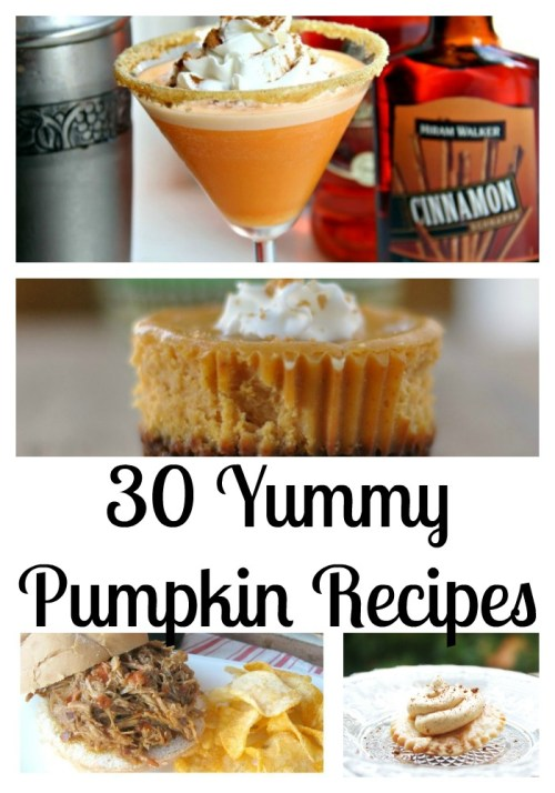 30 yummy pumpkin recipes