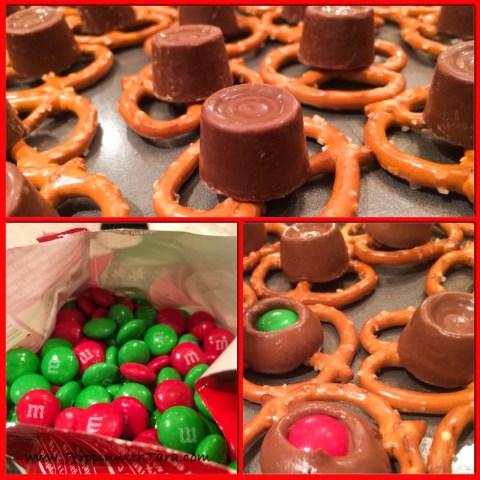 Christmas Rolo Pretzel Treat