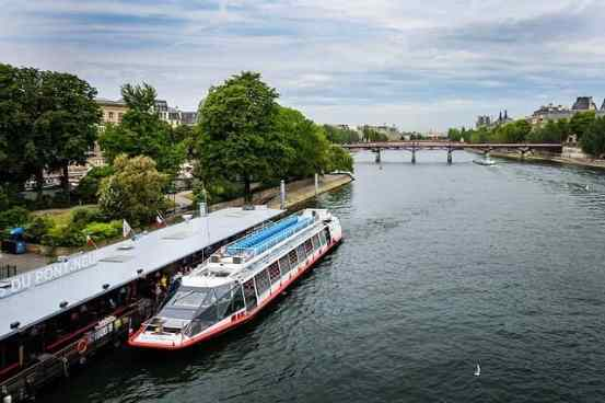 River seine cruise Paris