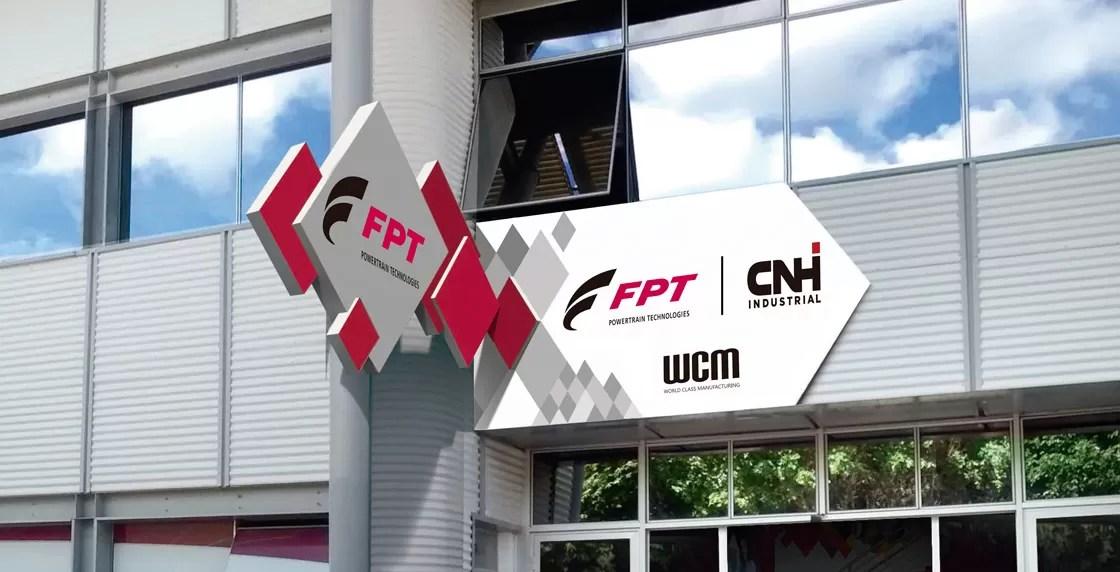 Sinalização industrial WCM Fiat Powertrain