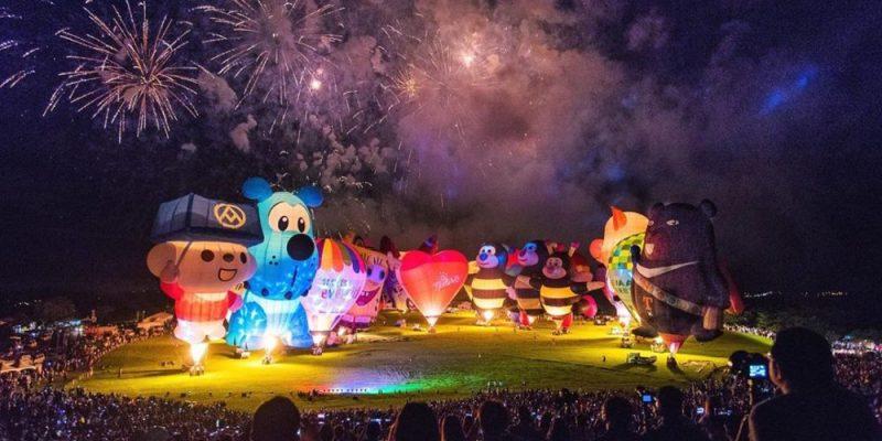 2020 台東熱氣球嘉年華 全攻略!熱氣球費用、光雕音樂會、交通資訊、注意事項懶人包(持續更新)