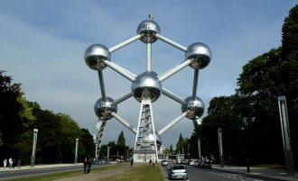 Welcome to the Atomium In Brussel