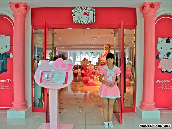Hello Kitty Dreams Restaurant in China