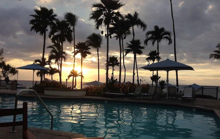 Maui resort pool