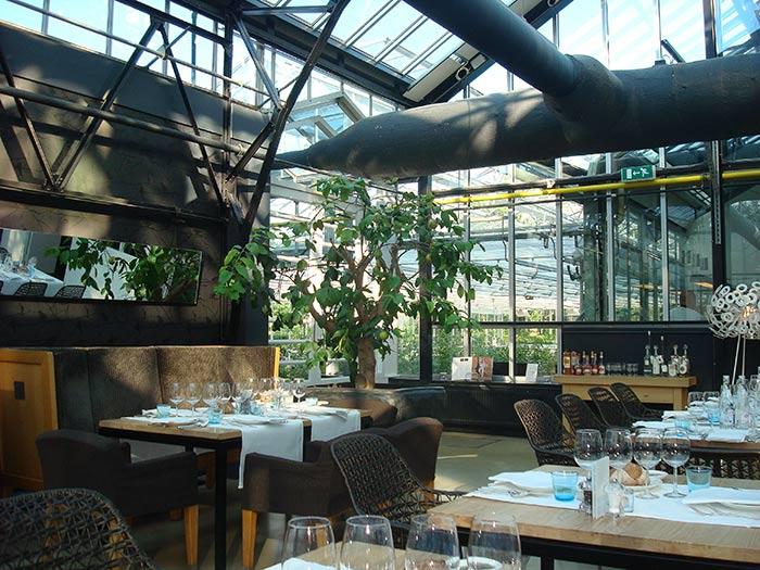 Restaurant De Kas in Amsterdam