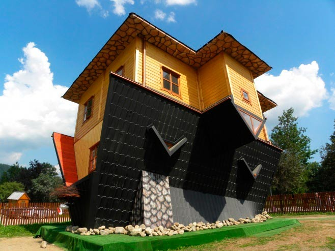 The Upside Down House in Zakopane