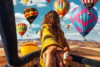 12 Breathtaking Hot Air Balloon Rides In The World