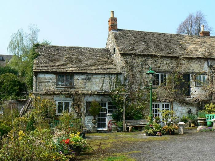 Ancient Ram Inn in Gloucestershire, England