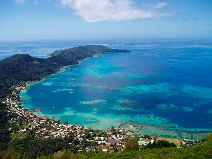 Christians Café in Pitcairn Island
