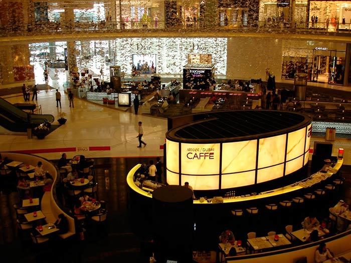 Emporio Armani Caffé, Dubai