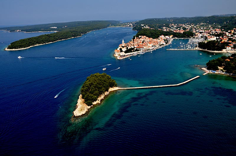 The Islnad of Rab Croatia