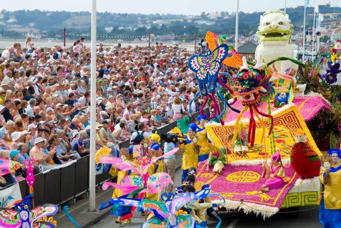Jersey Battle of Flowers, Channel Island of Jersey