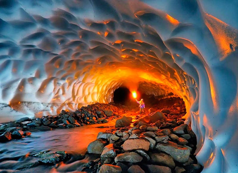Kamchatka Ice Caves, Russia