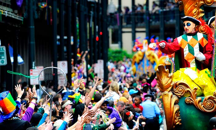 Mardi Gras Carnival in New Orleans, United States