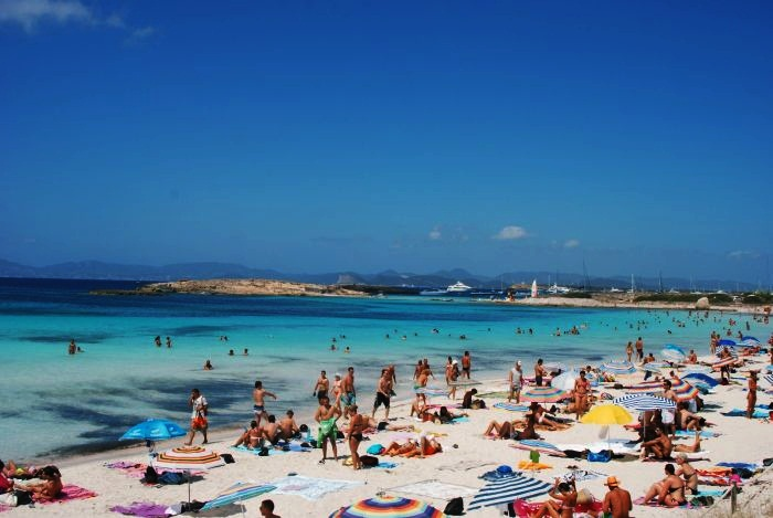 Platja de Ses Illetes, Spain