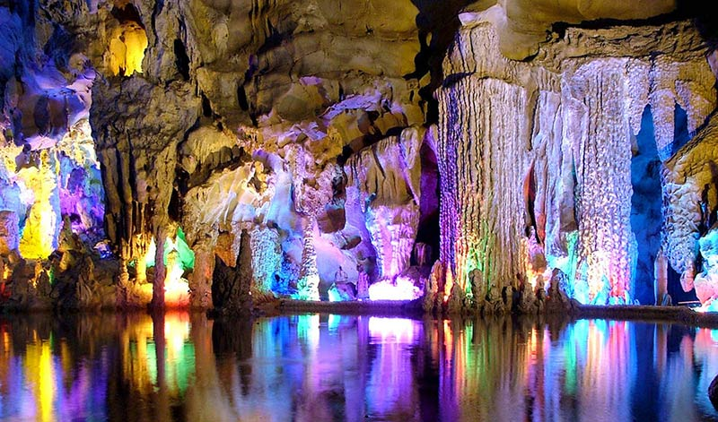 Reed Flute Cave, Guilin, China