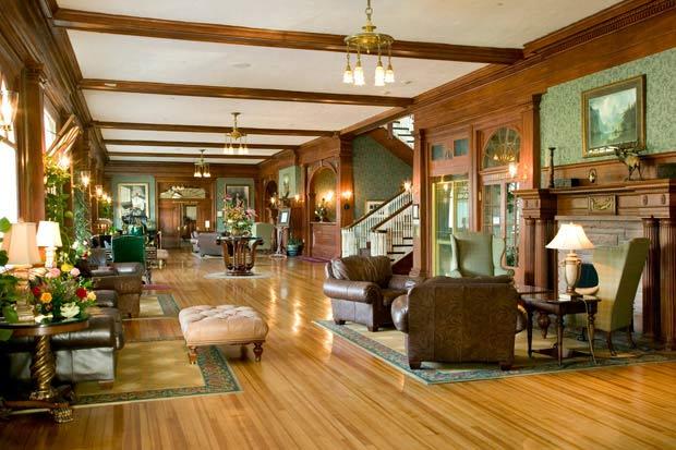 The Stanley Hotel in Estes Park, Colorado, USA