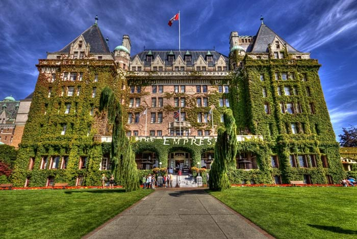 The Fairmont Empress in Victoria, British Columbia, Canada