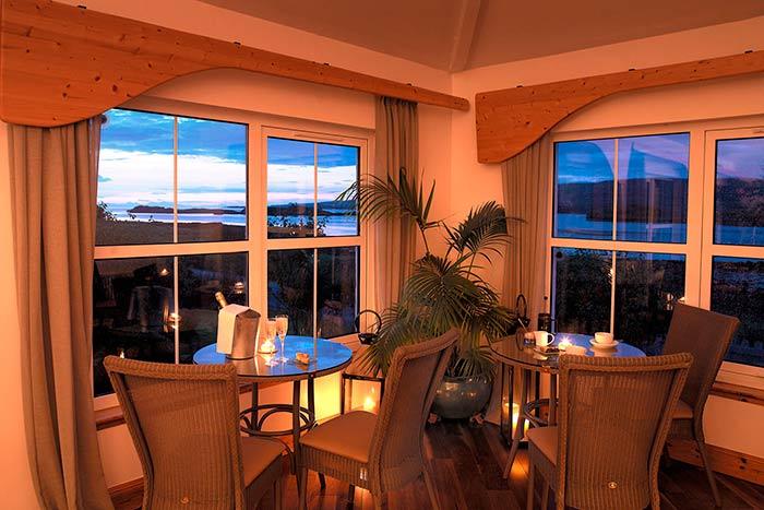 The Three Chimneys Restaurant in Scotland