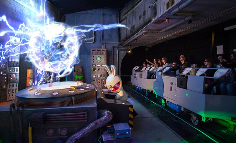 Futuroscope Attractions