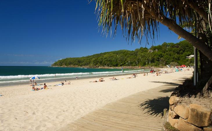 Hervey Bay beach Australia