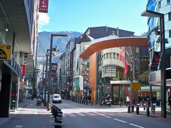 Shopping in Andorra