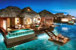 Experience the Thrill of an All-Inclusive Overwater Bungalow in the Caribbean