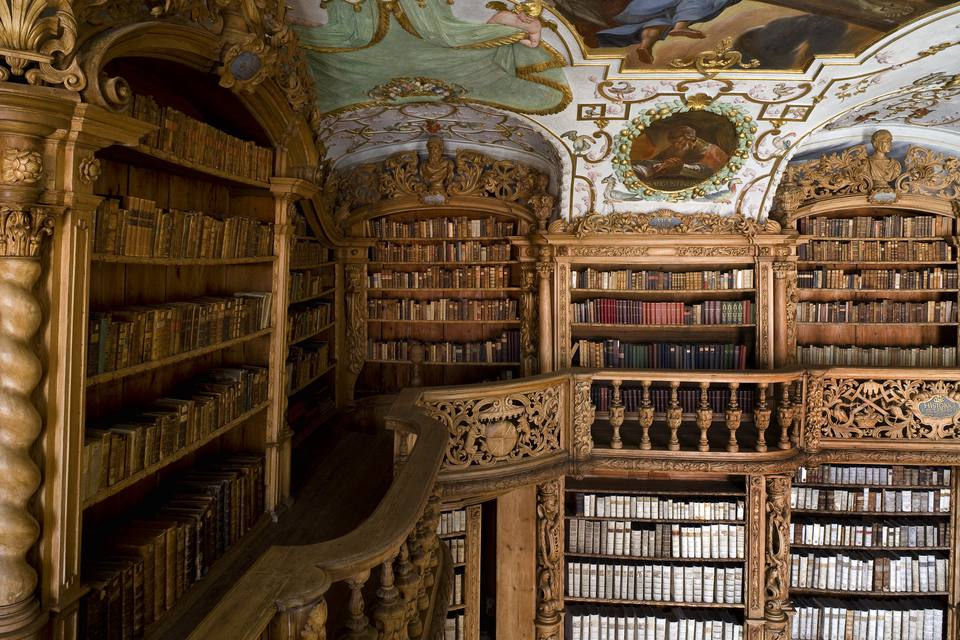 Image result for pictures of  old libraries inside