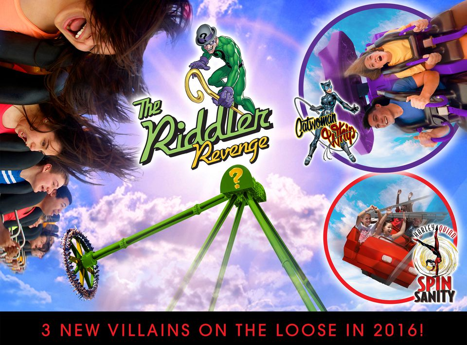 Whats New At Six Flags For 2016 Wild Coasters And More