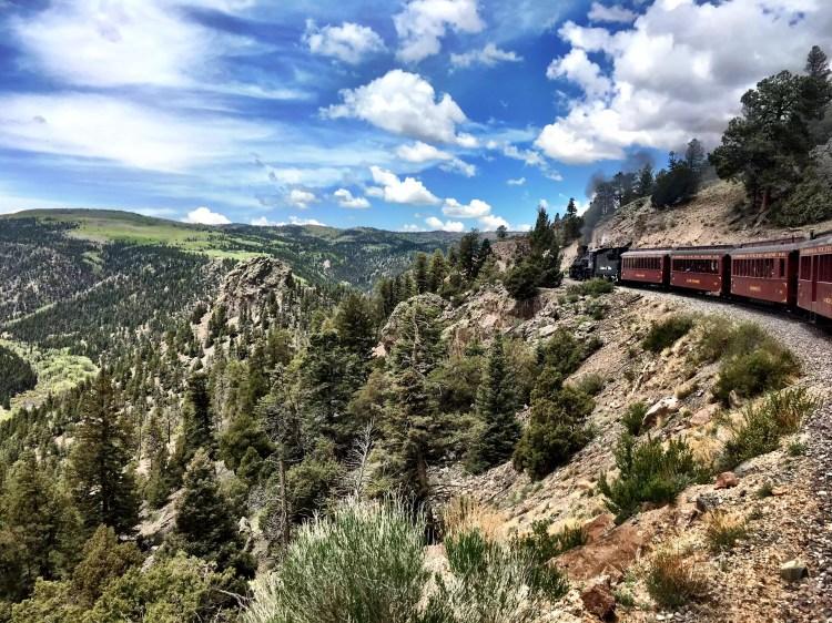 Cumbres and Toltec historic train