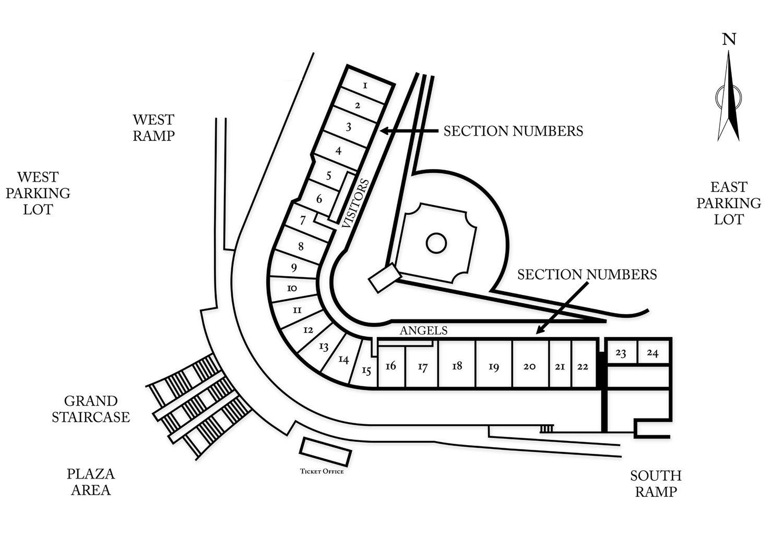 Tempe Diablo Stadium Seating Chart In Tempe Arizona