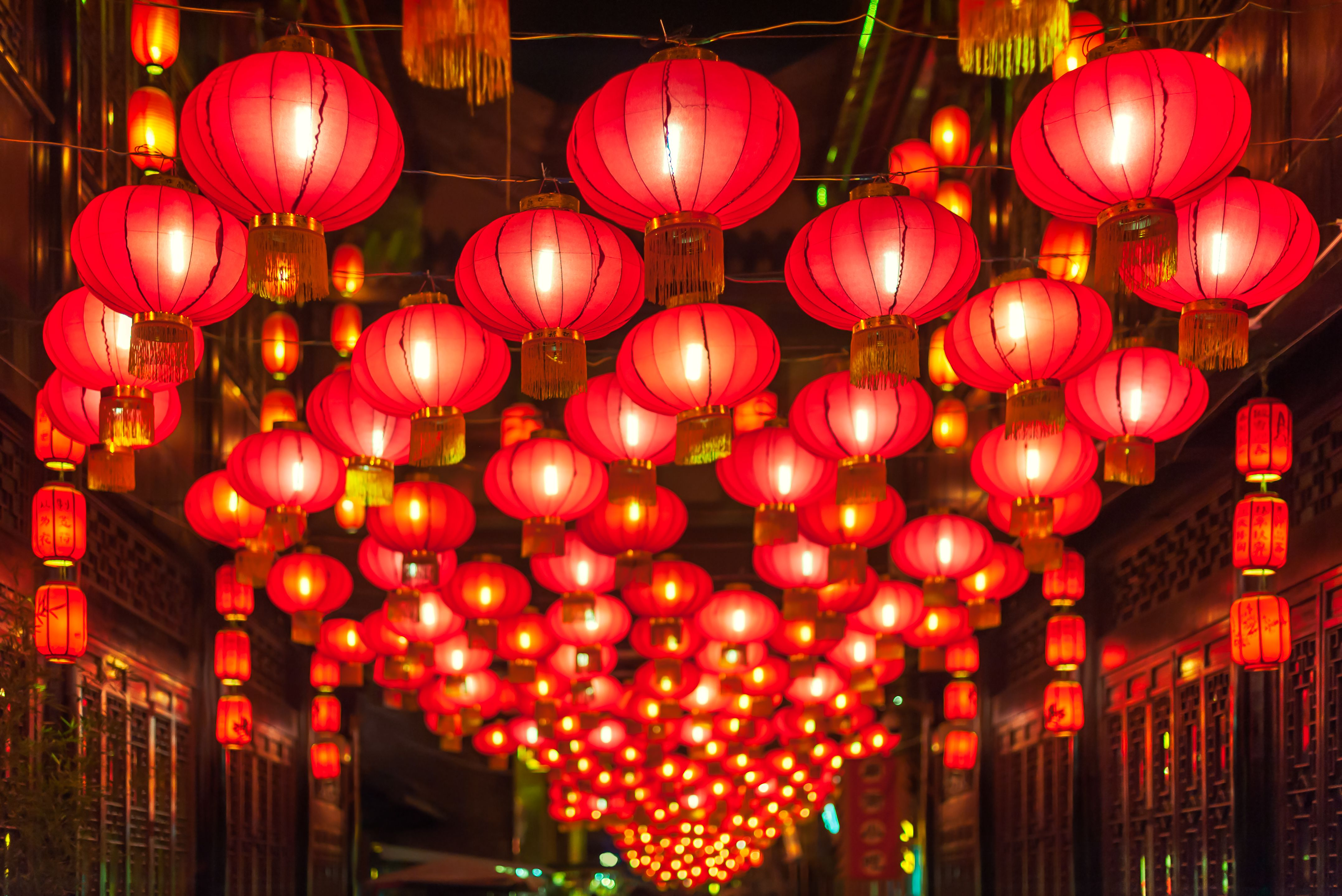 Chinese New Year Celebrations And The Lantern Festival