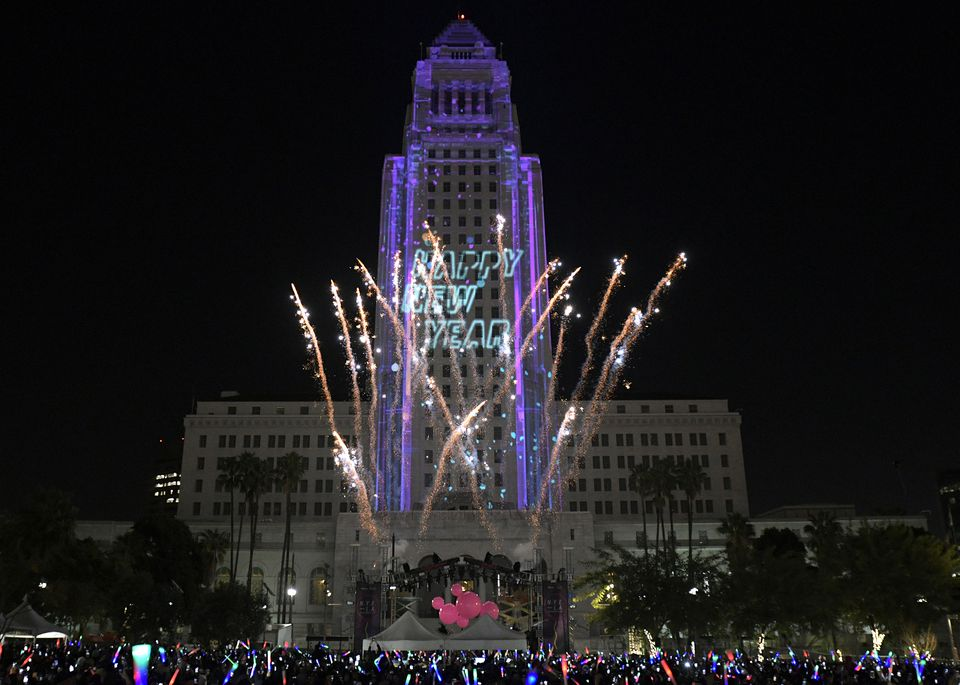 Best New Year s Eve Parties   Events in Los Angeles 2018 New Year s Eve at Grand Park LA  Los Angeles