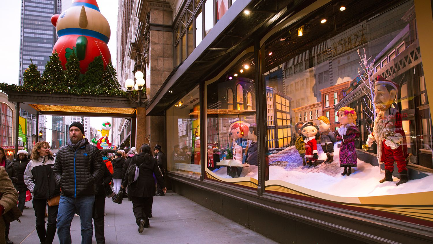Visit These Holiday Window Displays In New York City