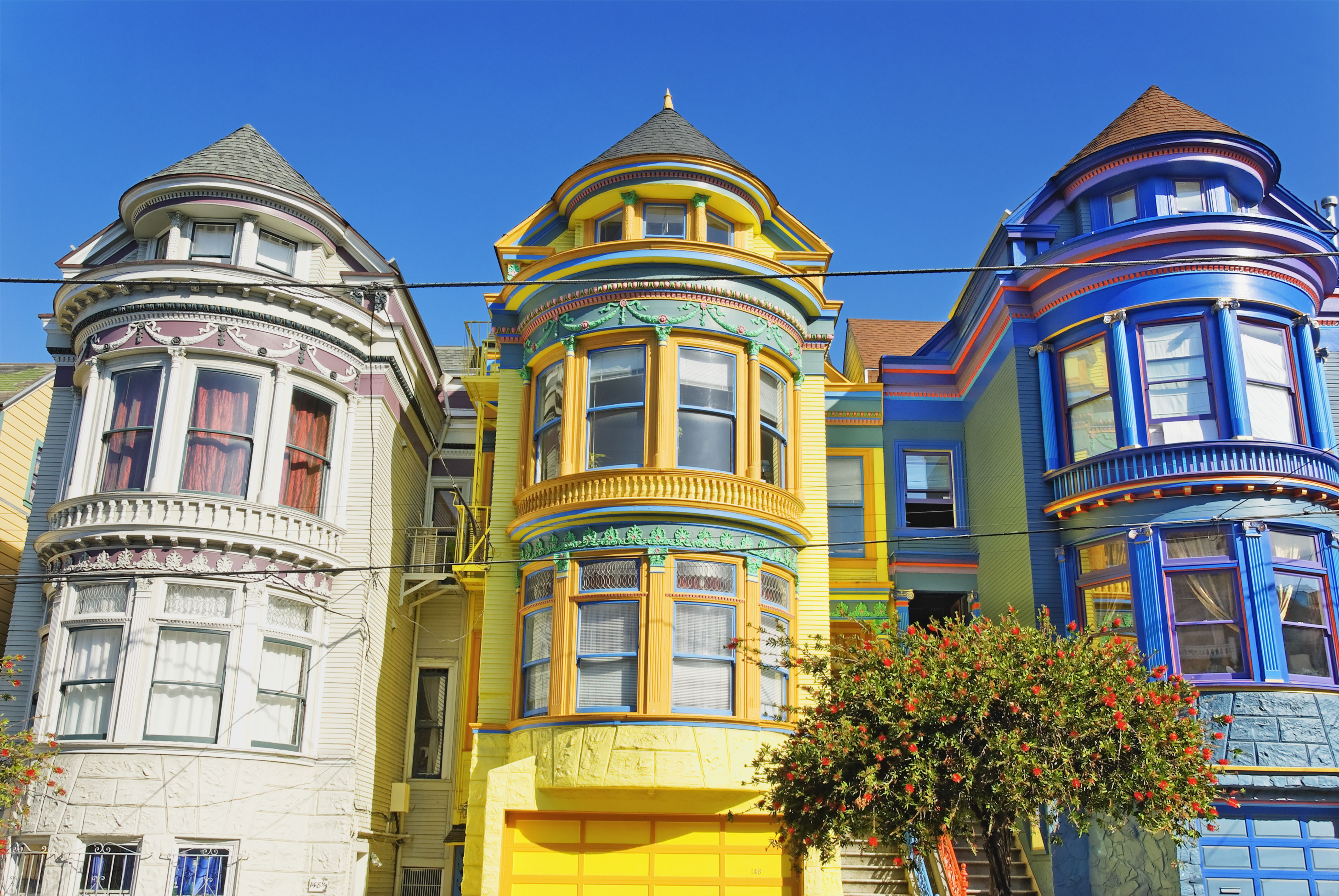 San Francisco Painted Ladies Amp Victorian Architecture
